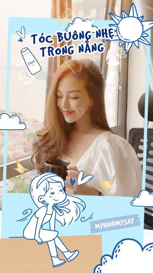 Thảo Nhi Lê, Hana Giang Anh, Julia Doan… khoe mái tóc ngẫu hứng, giản dị mà đẹp bất ngờ - Ảnh 5.