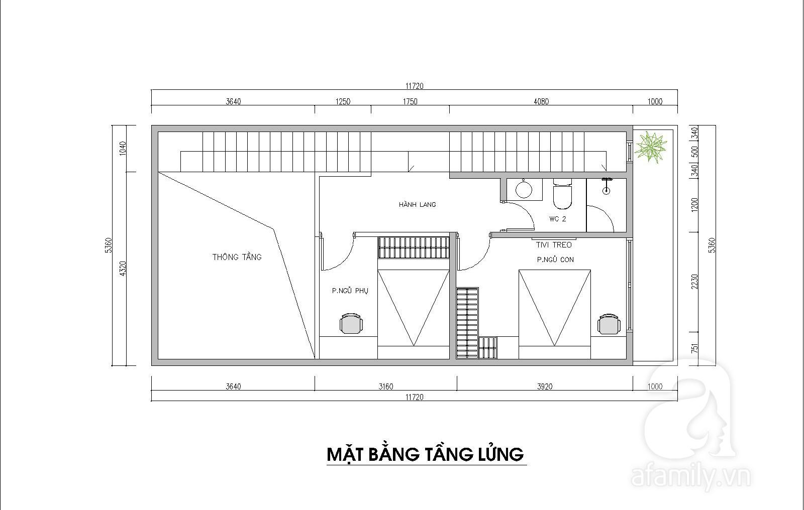 Kiến trúc sư tư vấn thiết kế hợp lý mẫu nhà ống 2 tầng diện tích nhỏ, đầy đủ tiện nghi cho gia đình 3 người với chi phí gần 200 triệu đồng - Ảnh 3.