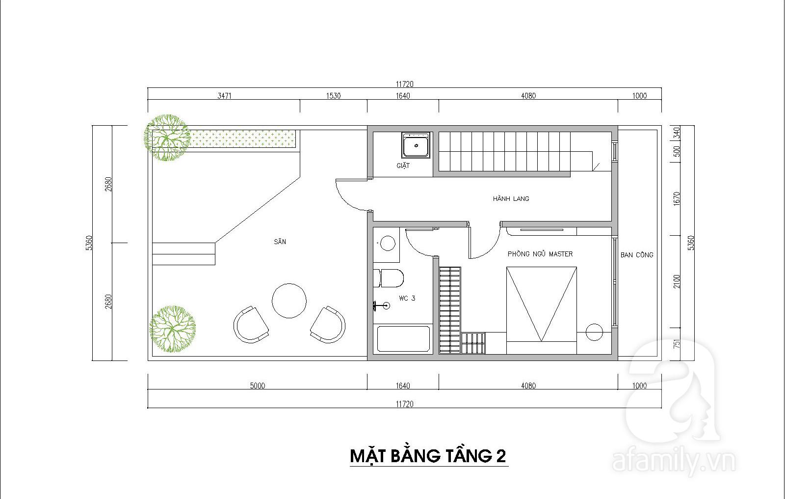 Kiến trúc sư tư vấn thiết kế hợp lý mẫu nhà ống 2 tầng diện tích nhỏ, đầy đủ tiện nghi cho gia đình 3 người với chi phí gần 200 triệu đồng - Ảnh 4.