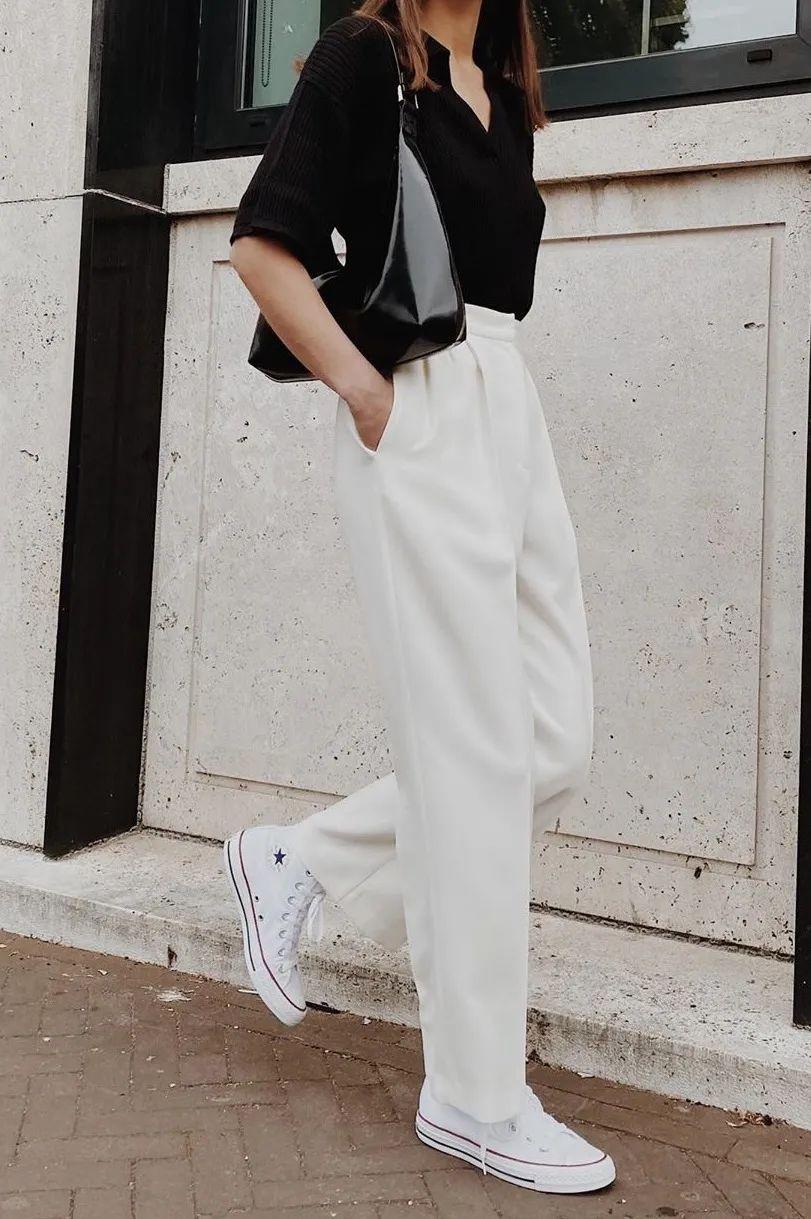 Đánh bật hết mọi kiểu quần, quần thuốc lá mới là item nàng công sở cần nhất vì vừa tôn dáng lại vừa sang chảnh - Ảnh 1.