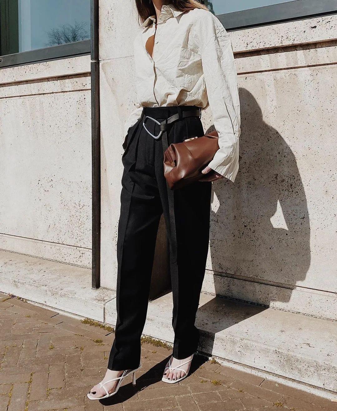 Đánh bật hết mọi kiểu quần, quần thuốc lá mới là item nàng công sở cần nhất vì vừa tôn dáng lại vừa sang chảnh - Ảnh 12.