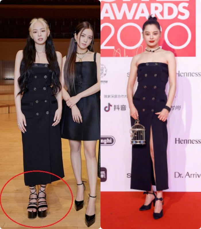 """Cùng diện đầm Chanel 160 triệu: """"Gia Quý phi"""" của Như ý Truyện sang chảnh bậc nhất, Jennie (Black Pink) bất ngờ lép về chỉ vì đôi sandals tòe cả ngón chân - Ảnh 12."""