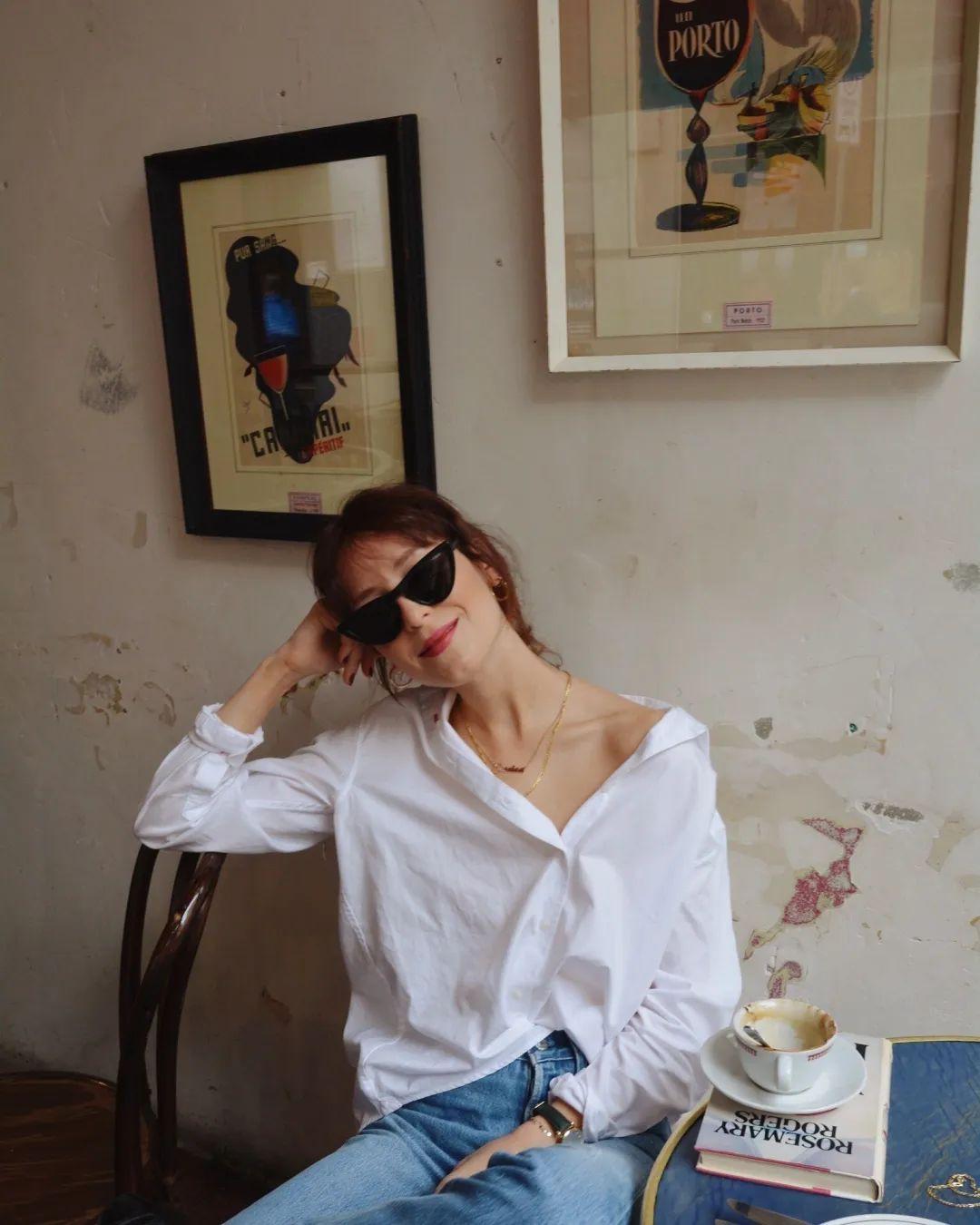 Sơ mi trắng – item kinh điển nhưng muốn mặc đẹp thì không phải nàng công sở nào cũng biết - Ảnh 3.