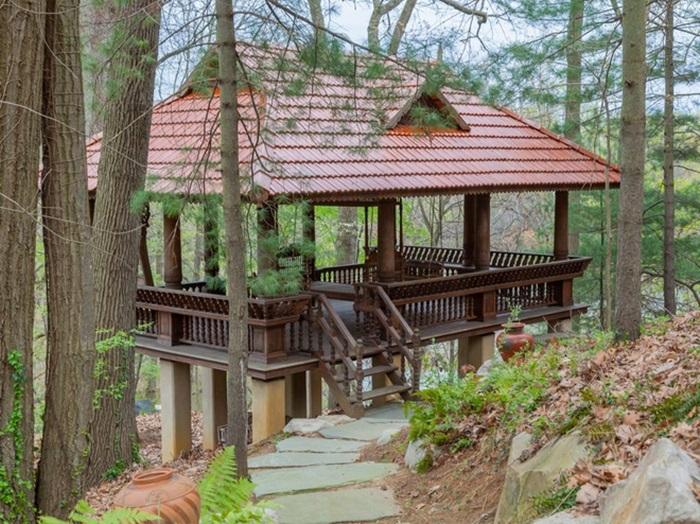 """Căn nhà giữa rừng bị bỏ hoang cả thập kỷ biến thành dinh thự 25 triệu đô nhờ """"bàn tay phù thủy"""" của doanh nhân ngành thủy sản - Ảnh 16."""