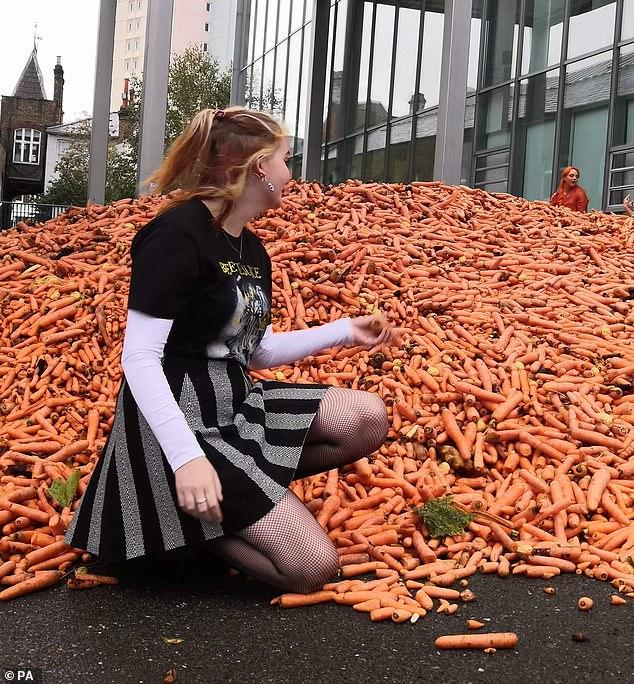 Đang yên đang lành đổ 28 tấn cà rốt ra đường, thanh niên khiến mọi người há hốc miệng khi biết hàm ý sâu xa nhưng vẫn không thể hiểu nổi - Ảnh 5.