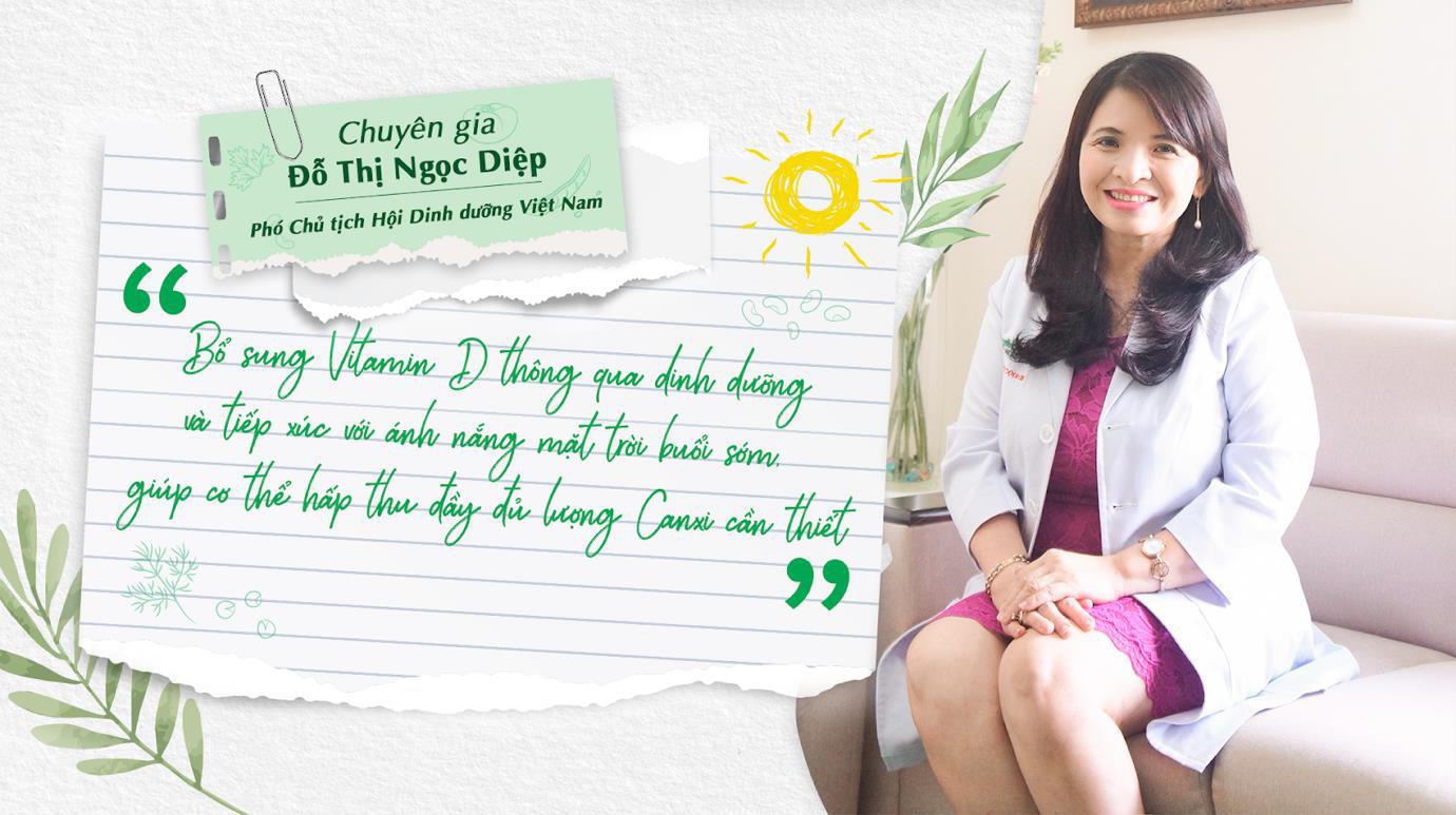 Cùng chuyên gia CKII Đỗ Thị Ngọc Diệp đi tìm lời giải về vitamin D - Ảnh 1.