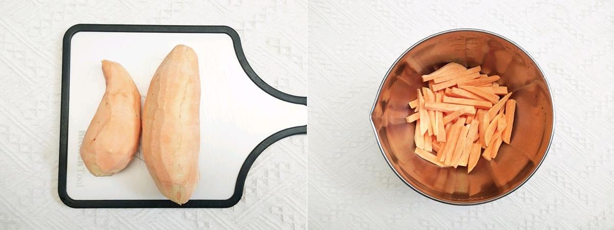 Muốn ăn vặt mà lại sợ béo thì học ngay cách làm món khoai lang tẩm dừa bằng nồi chiên không dầu này thôi! - Ảnh 2.