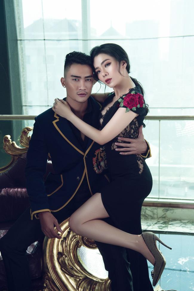 Trước khi vướng tin đồn yêu Lâm Bảo Châu, Lệ Quyên từng tình tứ quay MV với siêu mẫu 6 múi - Ảnh 6.