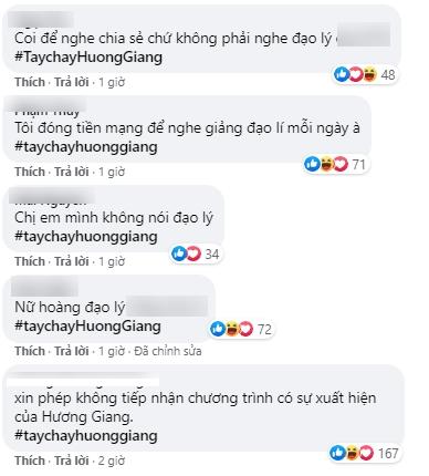 Làn sóng tẩy chay Hương Giang ngày dữ dội, khán giả tấn công chương trình có nàng Hậu đòi thay người nếu không sẽ nghỉ xem - Ảnh 4.