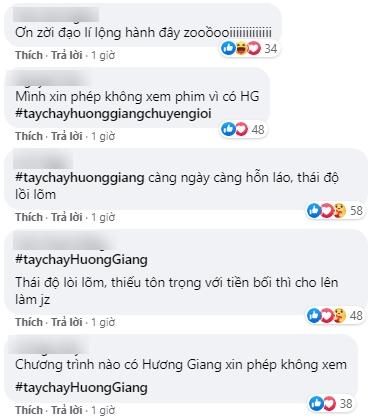 Làn sóng tẩy chay Hương Giang ngày dữ dội, khán giả tấn công chương trình có nàng Hậu đòi thay người nếu không sẽ nghỉ xem - Ảnh 5.