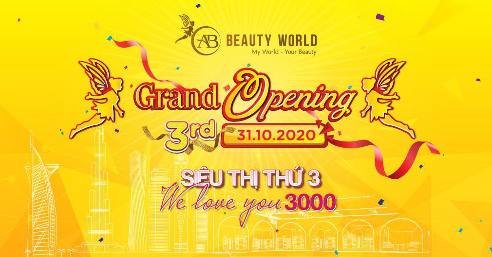 3.000 mỹ phẩm chính hãng giảm 50% giá nhân khai trương siêu thị AB Beauty World 3 - Ảnh 5.