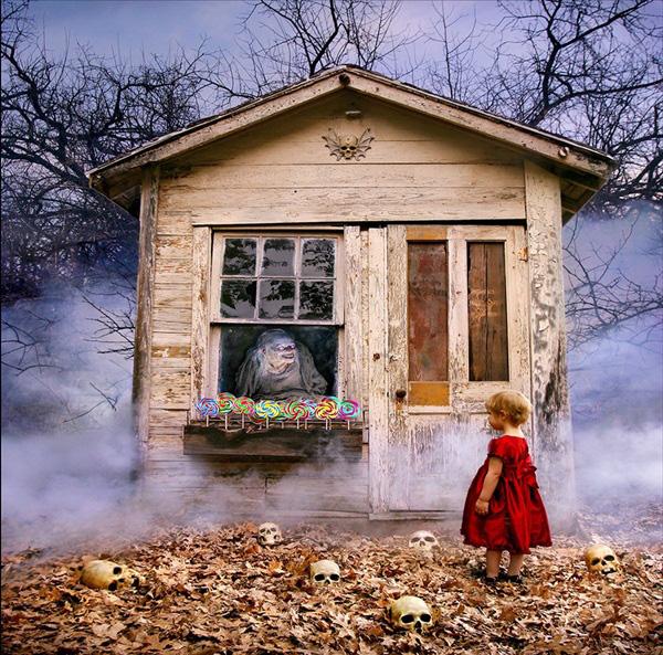 Nhân ngày Halloween, xem loạt ảnh kinh dị để thấy nỗi sợ vô hình mà bất kỳ ai cũng có thể gặp phải và nỗi niềm trẻ thơ ít người thấu - Ảnh 8.