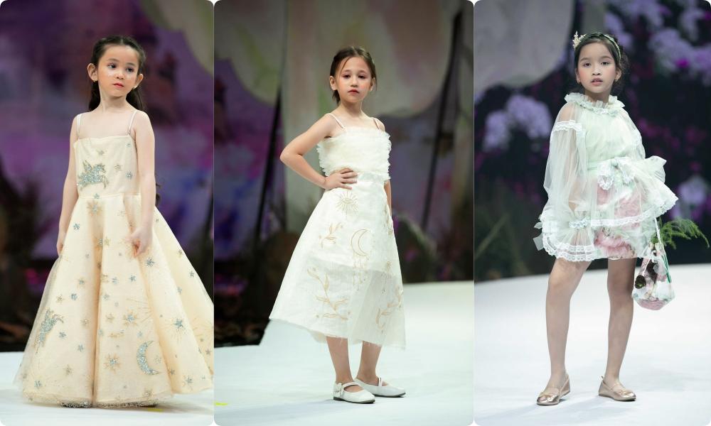 """HH Hương Giang tái xuất sàn catwalk với hình ảnh """"công chúa rừng xanh"""", kết màn cho Tuần lễ thời trang Trẻ em 2020 - Ảnh 10."""
