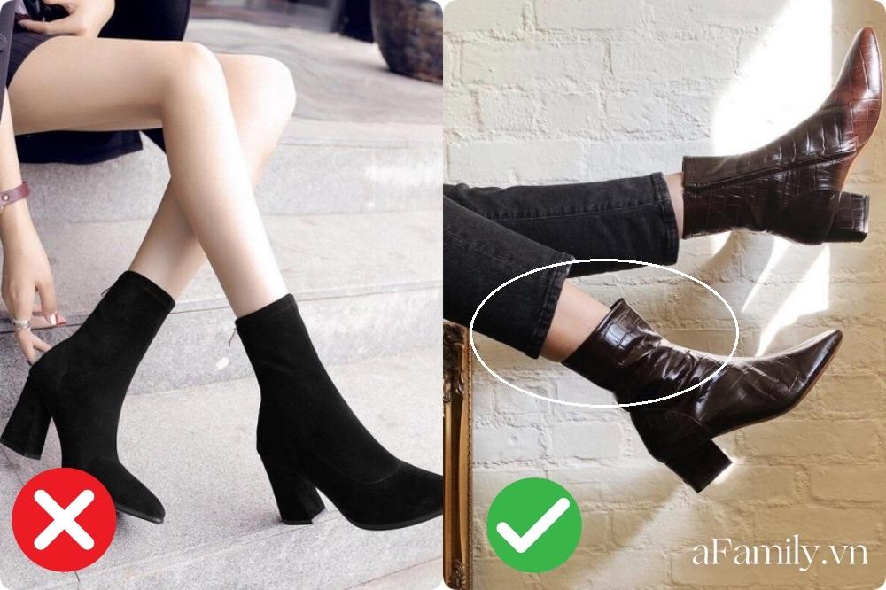 Chọn dáng boots sang xịn cho nàng chân to như cột đình: Với 3 chiêu này thì ngay cả đôi chân thô kệch nhìn cũng thon thả sang chảnh ngút ngàn