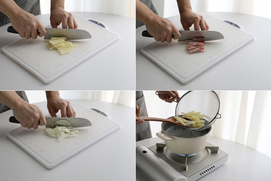 Bữa tối 3 món thanh nhẹ dễ ăn dễ nấu, vụng mấy cũng làm được - Ảnh 5.