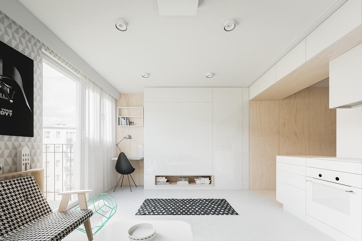 Ấn tượng những ngôi nhà với diện tích khiêm tốn dưới 50m2 nhưng thiết kế lại vô cùng cuốn hút - Ảnh 4.