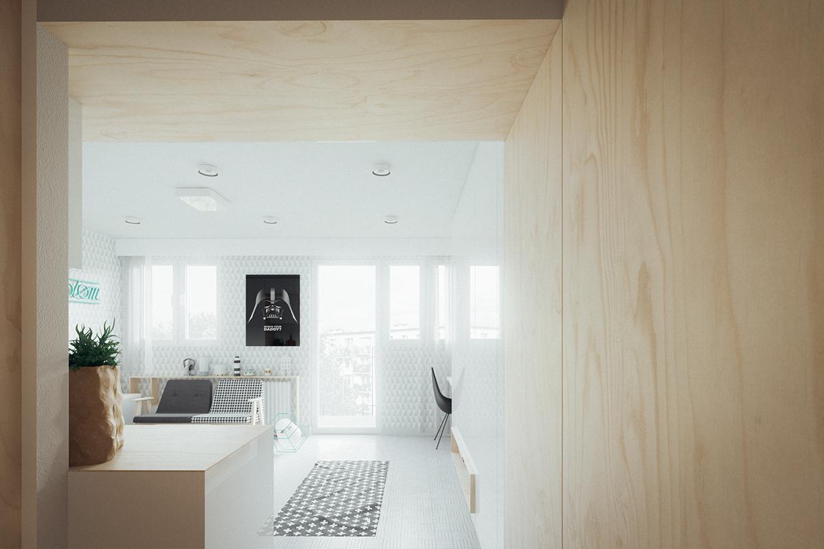 Ấn tượng những ngôi nhà với diện tích khiêm tốn dưới 50m2 nhưng thiết kế lại vô cùng cuốn hút - Ảnh 6.