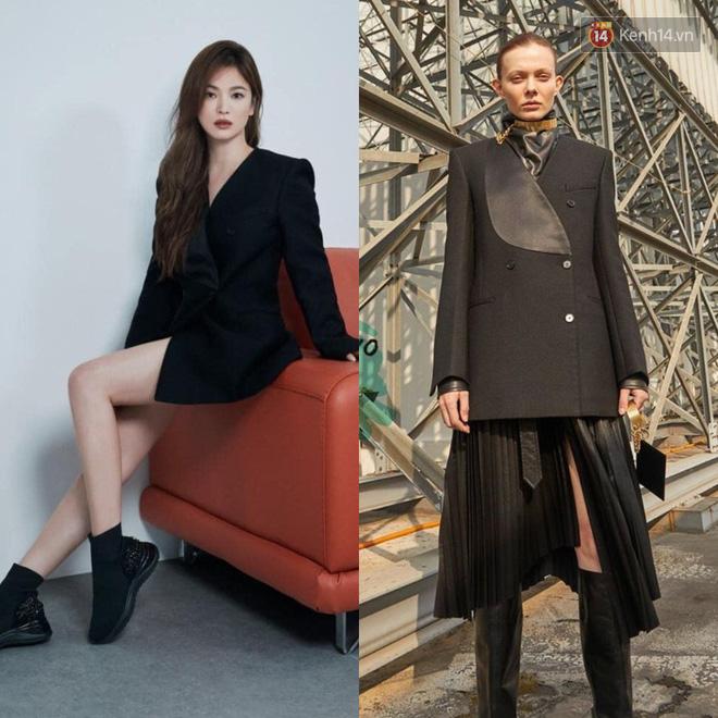 """Sau bao lần bị chê mặc sến, Song Hye Kyo giờ """"lên đời"""" khi diện đồ sang xịn hơn người mẫu - Ảnh 5."""