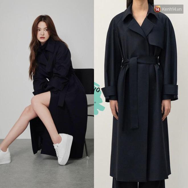 """Sau bao lần bị chê mặc sến, Song Hye Kyo giờ """"lên đời"""" khi diện đồ sang xịn hơn người mẫu - Ảnh 7."""