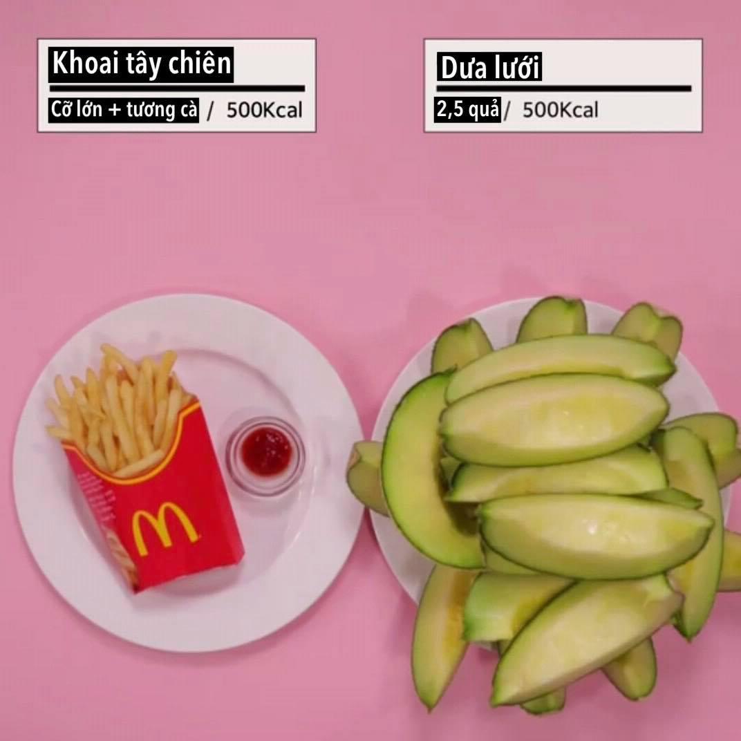 """Loạt ảnh quy đổi khiến bạn """"vỡ lẽ"""" vì sao giảm cân hoài vẫn béo, ăn ít mà vẫn không giảm được cân nào - Ảnh 4."""
