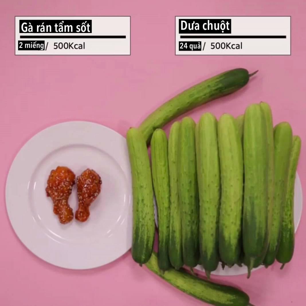 """Loạt ảnh quy đổi khiến bạn """"vỡ lẽ"""" vì sao giảm cân hoài vẫn béo, ăn ít mà vẫn không giảm được cân nào - Ảnh 6."""