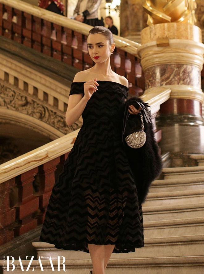 """Mix & Phối - Emily Ở Paris: Phong cách gái Mỹ trên đất Pháp nhận mưa lời khen, người khó tính thì kêu """"nửa nạc nửa mỡ"""" nhưng liệu có thoả đáng? - chanvaydep.net 7"""