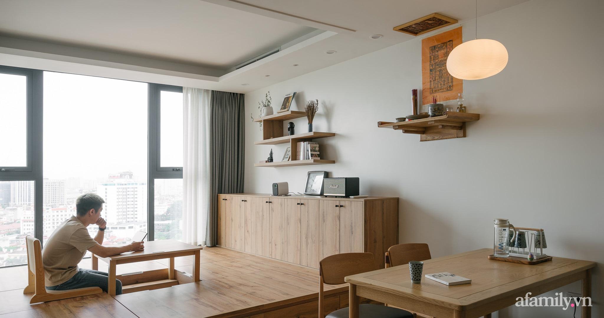 Sau 27 ngày cải tạo, chàng trai không nhận ra căn hộ 90m² của mình vì góc nào cũng xinh ở Giảng Võ, Hà Nội - Ảnh 2.