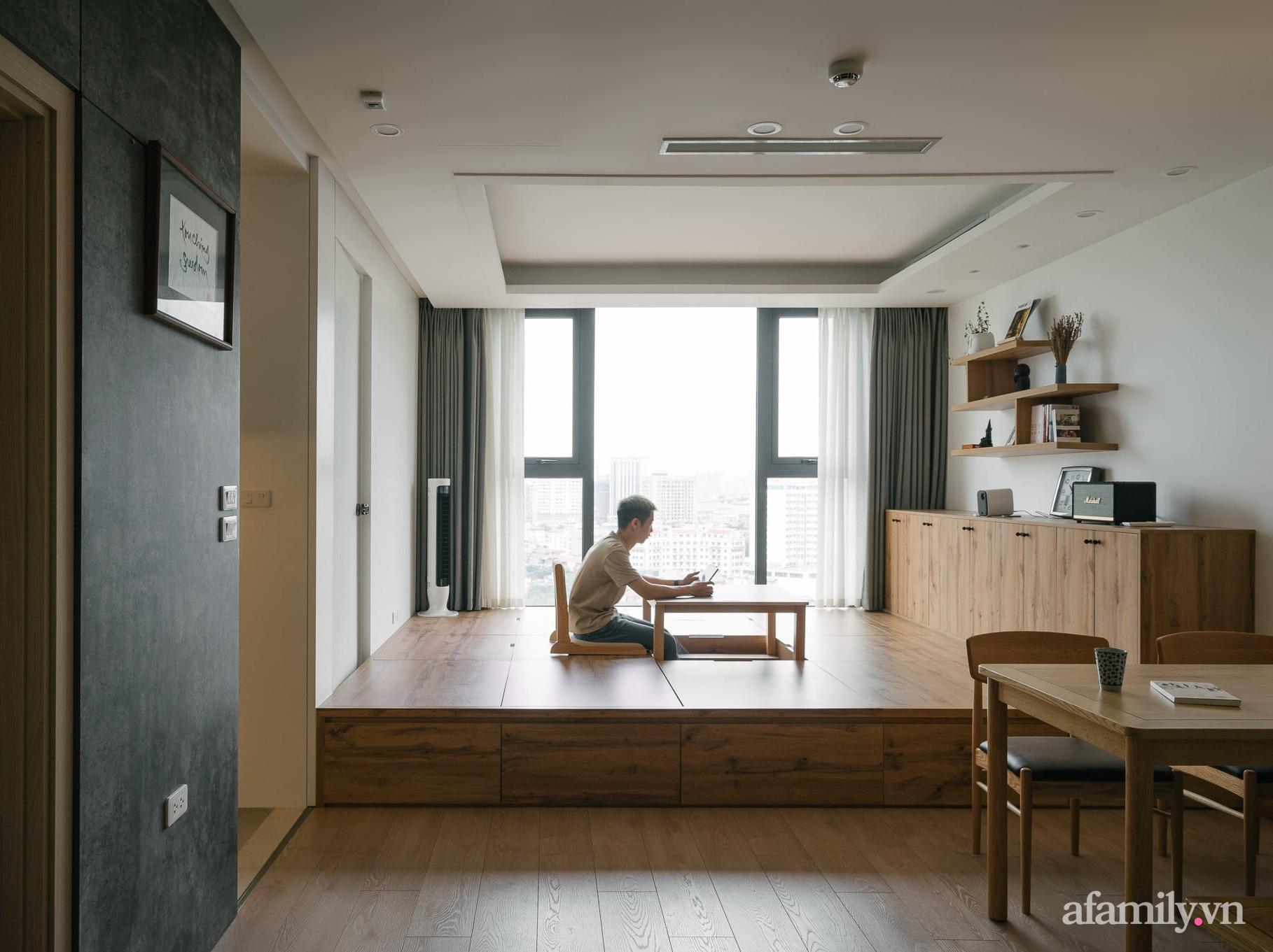 Sau 27 ngày cải tạo, chàng trai không nhận ra căn hộ 90m² của mình vì góc nào cũng xinh ở Giảng Võ, Hà Nội - Ảnh 1.
