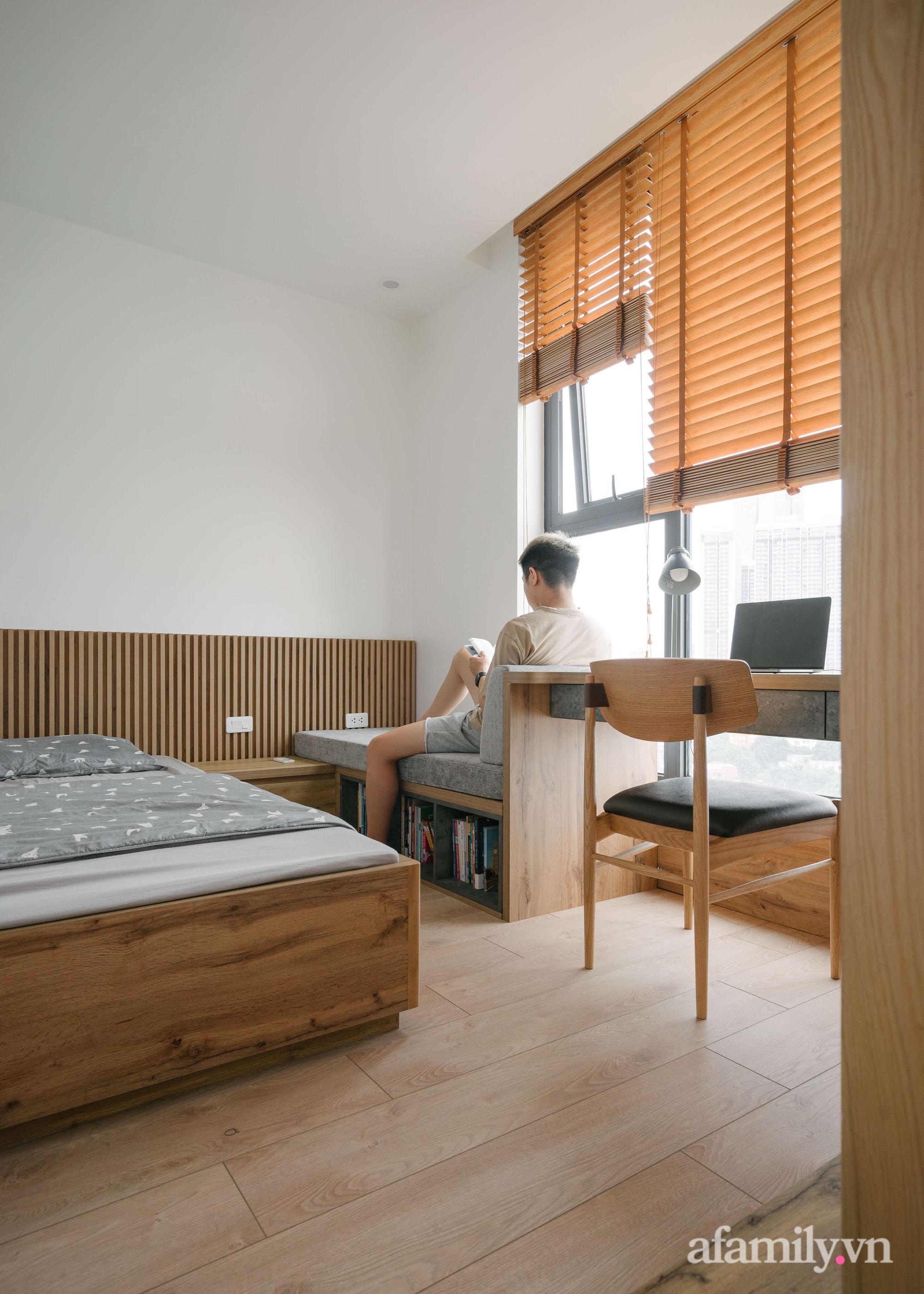 Sau 27 ngày cải tạo, chàng trai không nhận ra căn hộ 90m² của mình vì góc nào cũng xinh ở Giảng Võ, Hà Nội - Ảnh 12.