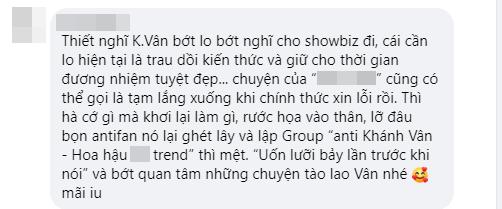 """Hoa hậu Khánh Vân bị lực lượng anti-fan hùng hậu công kích sau phát ngôn: """"Mọi người đang hơi khắt khe, quá đáng với Hương Giang"""" - Ảnh 4."""