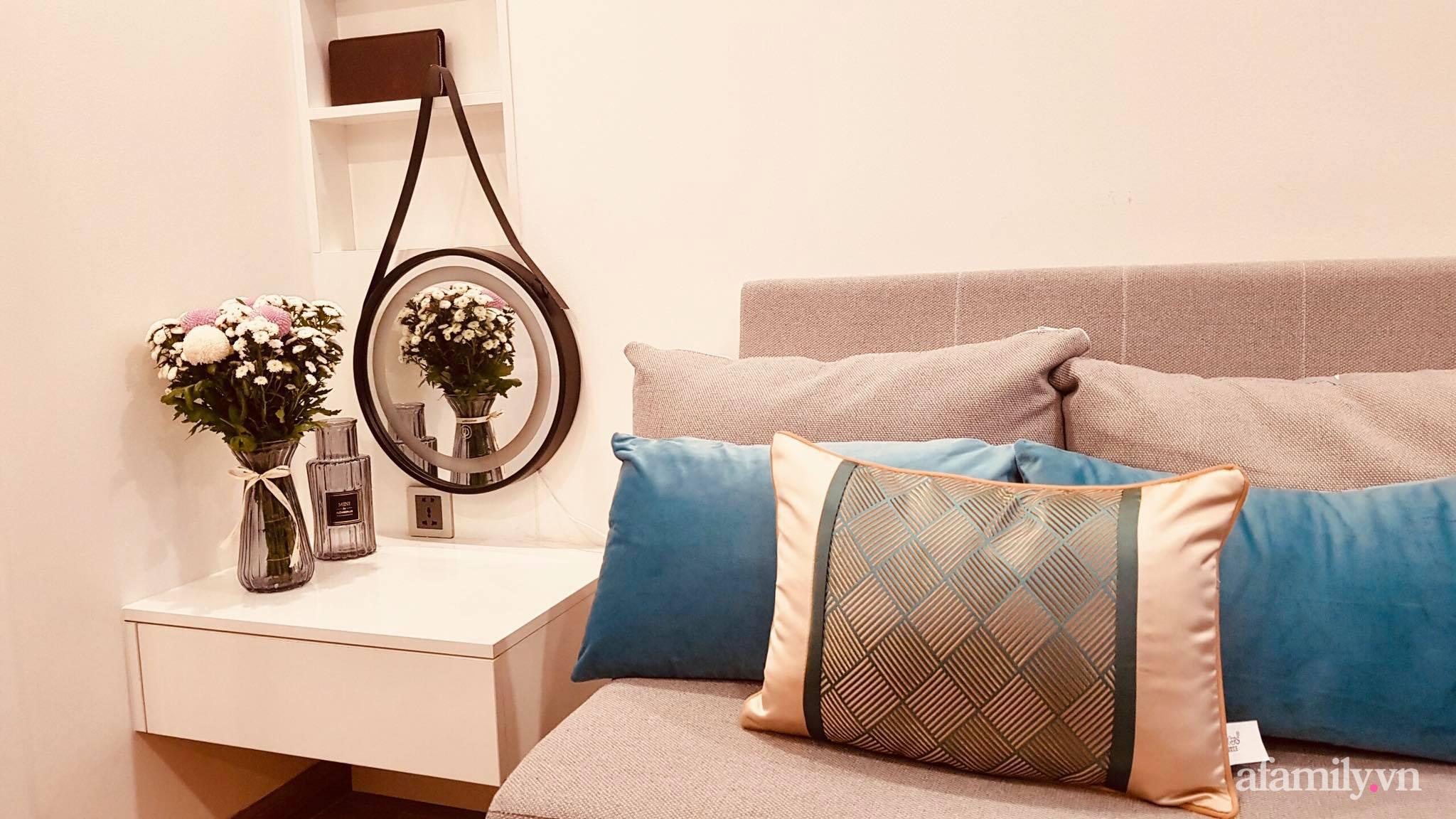 Căn hộ 28m² đẹp từng centimet với cách lựa chọn nội thất thông minh, hiện đại có chi phí hoàn thiện 100 triệu đồng ở Hà Nội - Ảnh 13.