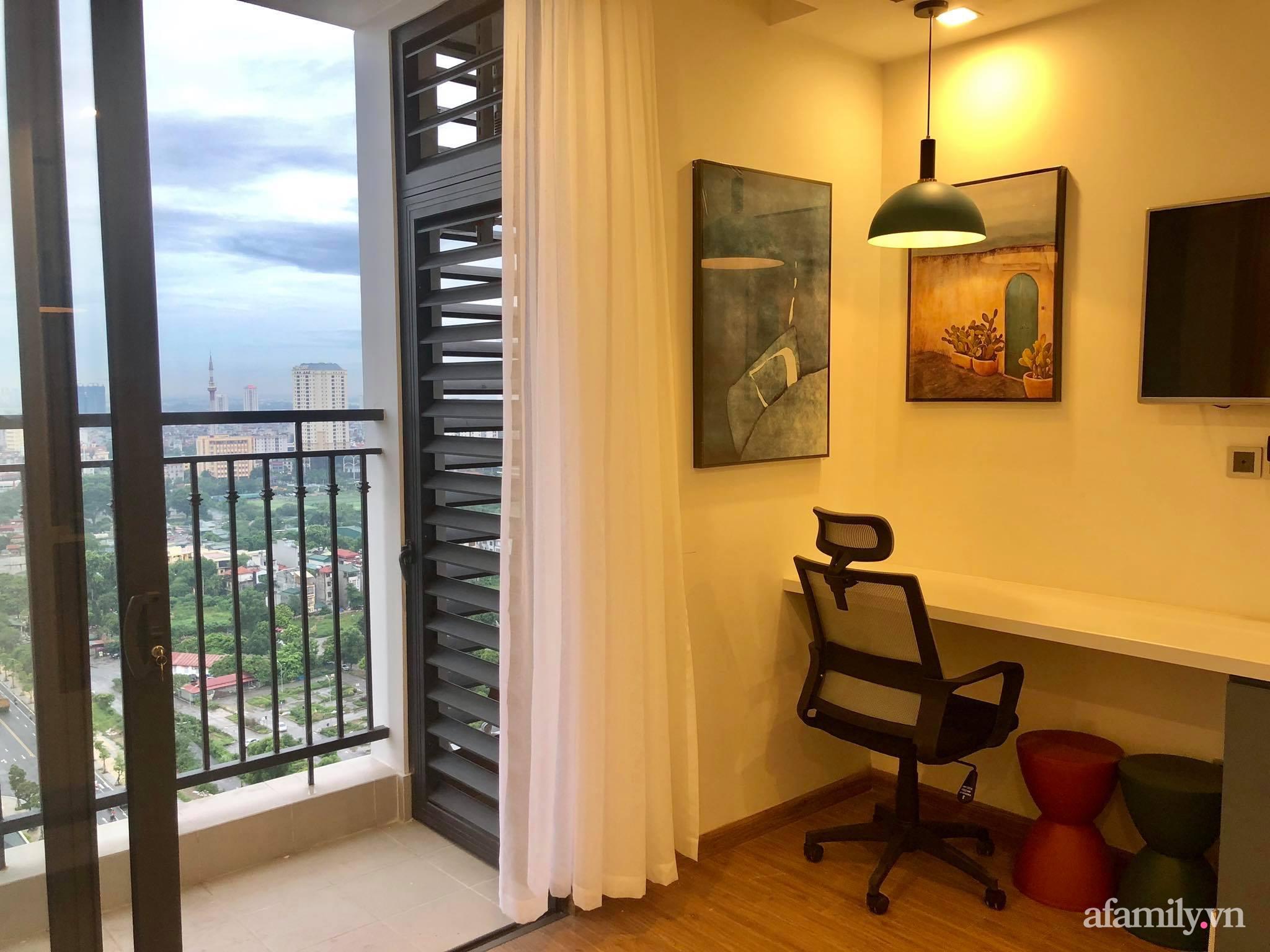 Căn hộ 28m² đẹp từng centimet với cách lựa chọn nội thất thông minh, hiện đại có chi phí hoàn thiện 100 triệu đồng ở Hà Nội - Ảnh 2.