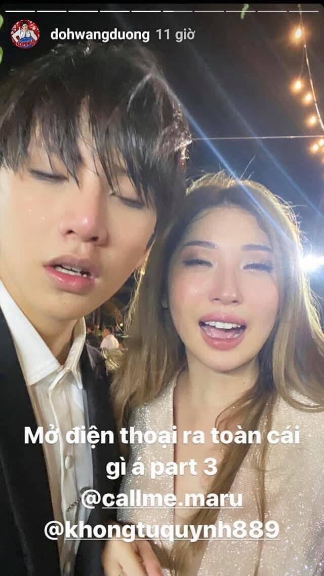 """Đông Nhi tung ảnh dìm hàng cả showbiz trong hôn lễ thế kỷ: Noo Phước Thịnh mặt mũi lem nhem vì khóc, Minh Hằng mất sạch hình tượng nhưng """"trùm cuối"""" lại là cô dâu - Ảnh 9."""