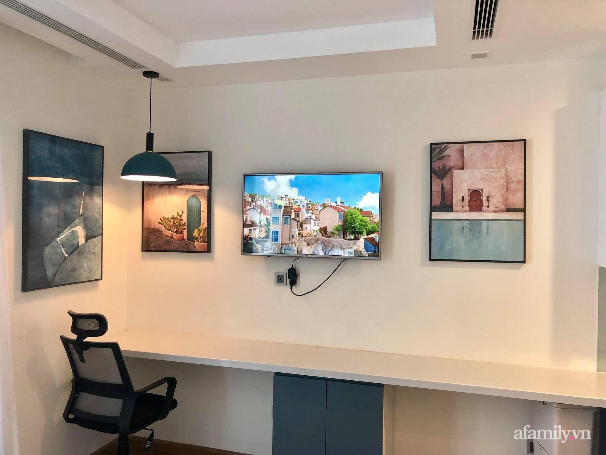 Căn hộ 28m² đẹp từng centimet với cách lựa chọn nội thất thông minh, hiện đại có chi phí hoàn thiện 100 triệu đồng ở Hà Nội - Ảnh 12.