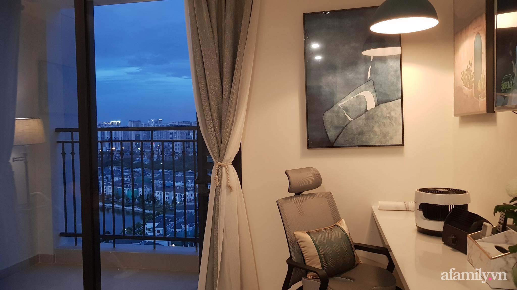 Căn hộ 28m² đẹp từng centimet với cách lựa chọn nội thất thông minh, hiện đại có chi phí hoàn thiện 100 triệu đồng ở Hà Nội - Ảnh 1.