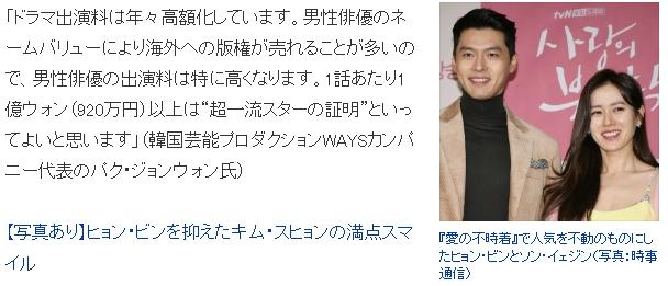 Hé lộ cát xê của Hyun Bin - Son Ye Jin - Song Joong Ki: Tỷ lệ ăn chia mỗi lần quay phim, đi sự kiện cao ngất ngưởng nhưng vẫn thua người này - Ảnh 4.