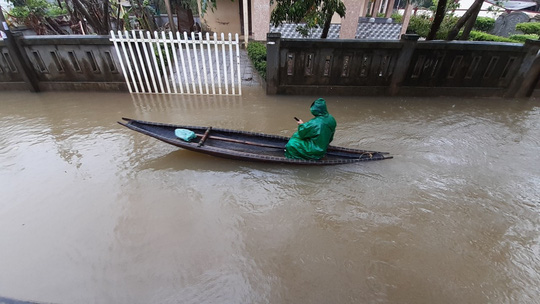 Bình Định, Thừa Thiên - Huế: Nhiều nơi ngập nặng trở lại - Ảnh 5.
