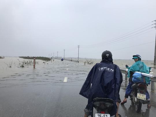 Bình Định, Thừa Thiên - Huế: Nhiều nơi ngập nặng trở lại - Ảnh 8.