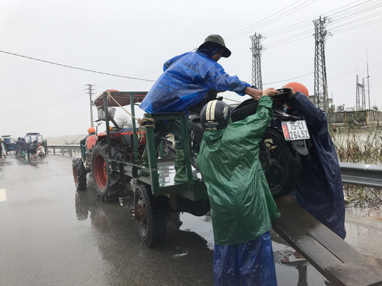 Bình Định, Thừa Thiên - Huế: Nhiều nơi ngập nặng trở lại - Ảnh 9.