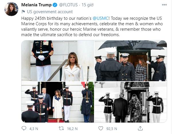 Ivanka Trump bất ngờ xuất hiện tích cực trên truyền thông, đăng tải ảnh mới đẹp hút hồn trong khi Đệ nhất phu nhân Mỹ cũng có động thái mới - Ảnh 3.