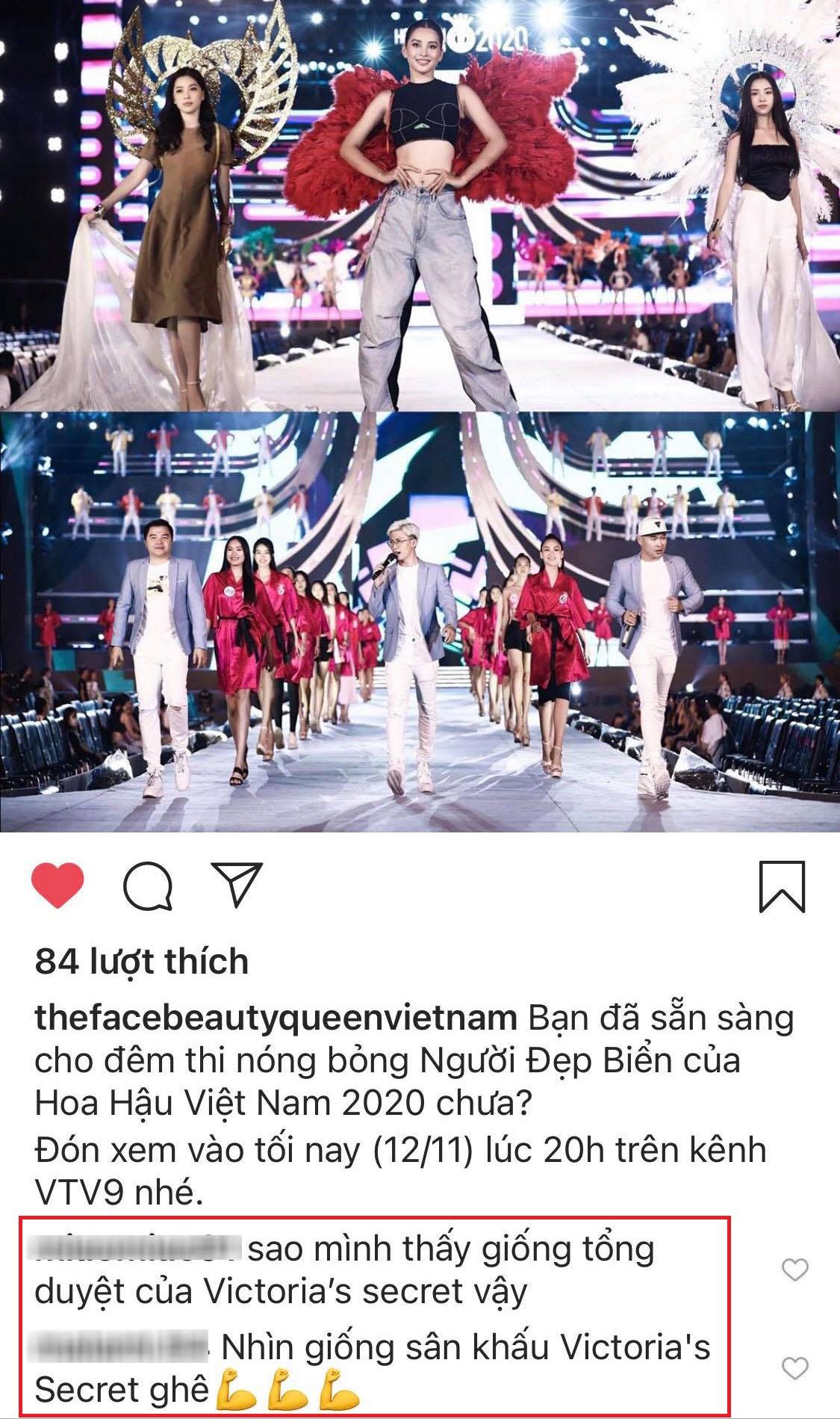 Lộ diện sân khấu tổng duyệt đêm thi Hoa hậu Biển - Chung kết HHVN 2020: HH Tiểu Vy đeo cánh thiên thần, dân tình thi nhau nhận xét như Victoria's Secret show - Ảnh 4.