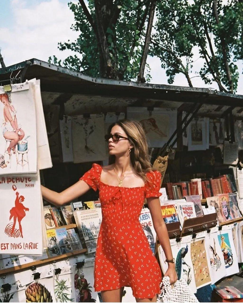 """4 kiểu váy mà phụ nữ Pháp yêu thích nhất, diện lên vừa """"thơ"""" lại vừa sang - Ảnh 3."""