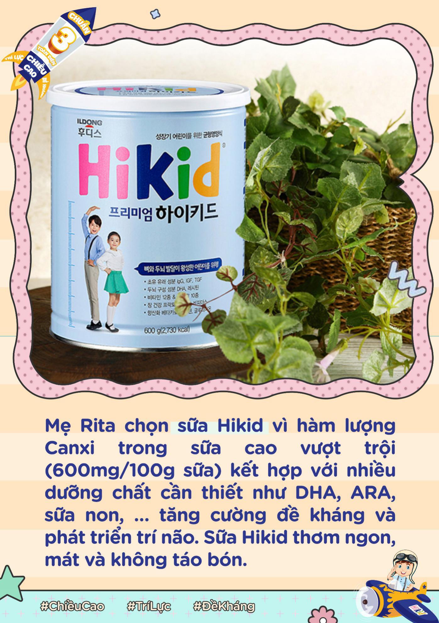 Con cao vượt chuẩn hẳn 10cm, hot mom Rita Trần bật mí cách nuôi con vượt trội - Ảnh 3.
