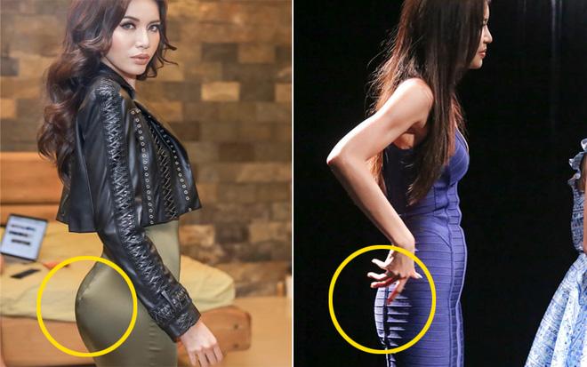 Bóc loạt chiêu hack dáng của mỹ nhân Việt: Từ đánh khối độ ngực cho tới mặc quần độn mông lộ liễu - Ảnh 14.