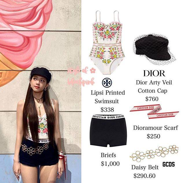 Jisoo sexy, Yoona lại đơn giản và cá tính khi cùng đụng mũ hàng hiệu 18 triệu - Ảnh 4.