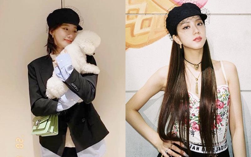 Jisoo sexy, Yoona lại đơn giản và cá tính khi cùng đụng mũ hàng hiệu 18 triệu - Ảnh 5.