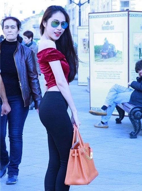 Bóc loạt chiêu hack dáng của mỹ nhân Việt: Từ đánh khối độ ngực cho tới mặc quần độn mông lộ liễu - Ảnh 9.