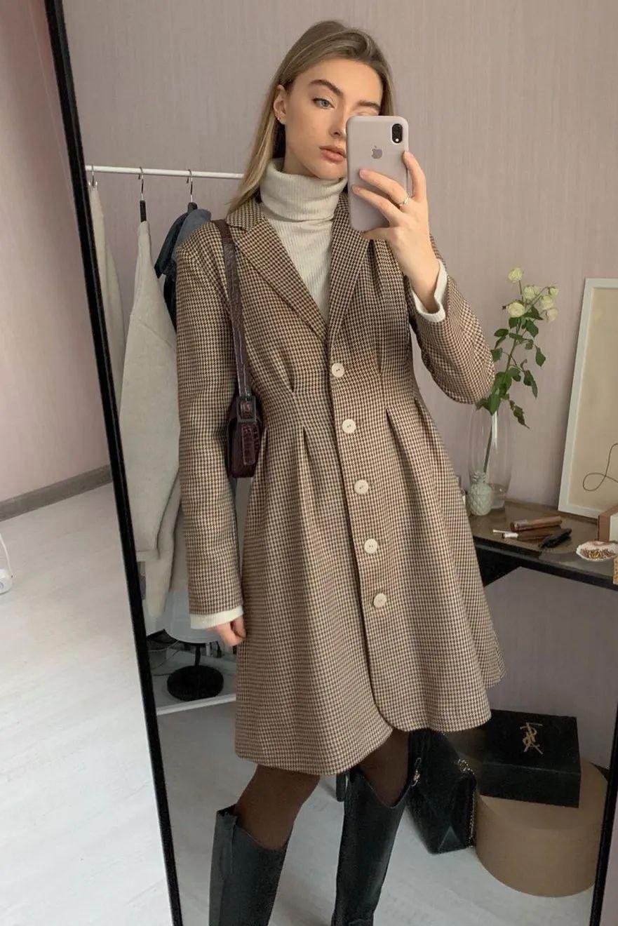Cô nàng sành điệu nào cũng diện kiểu áo này vào mùa lạnh, bạn mà bỏ qua thì thật có lỗi với style của bản thân - Ảnh 2.