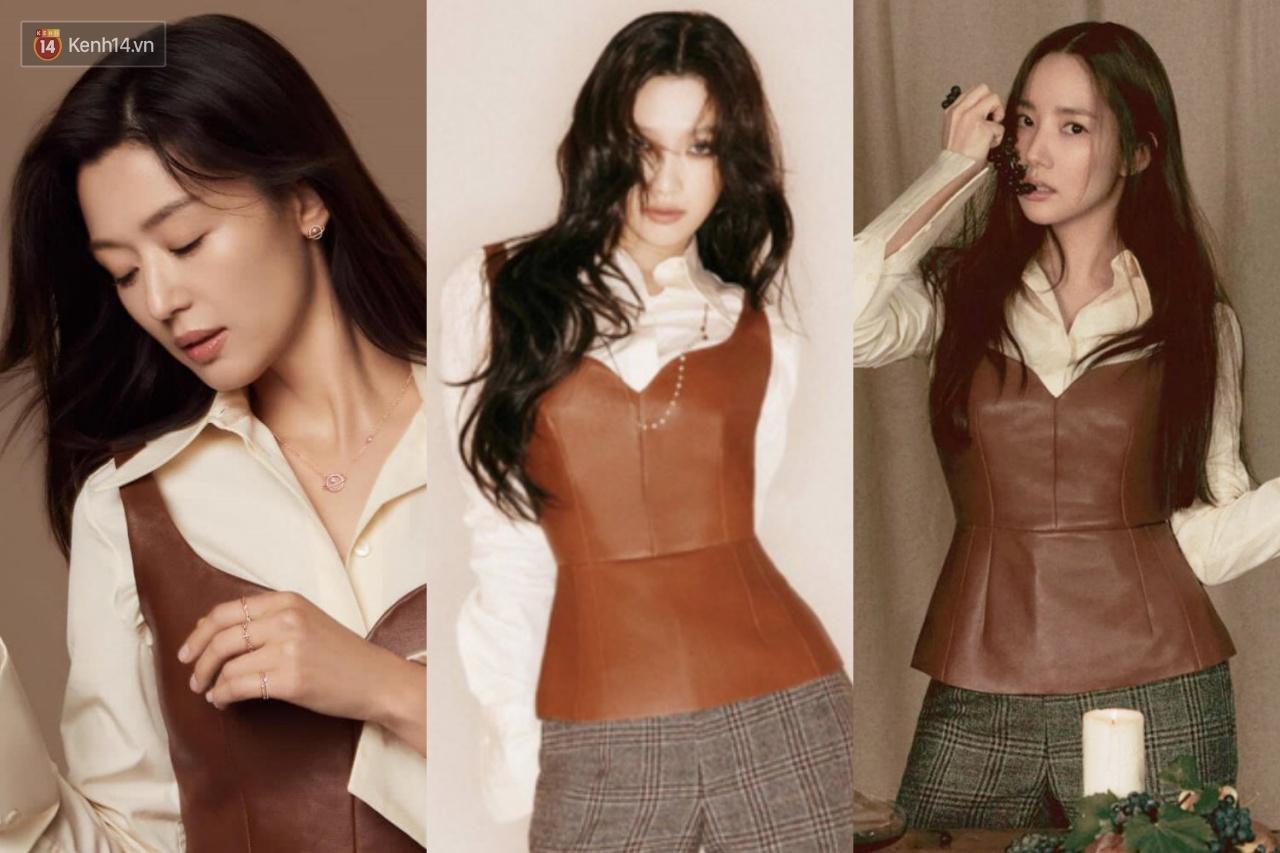 Jeon Ji Hyun vừa tái xuất đã đụng hàng với 2 mỹ nhân Park Min Young và Joy, ai mới là người đẹp nhất? - Ảnh 7.