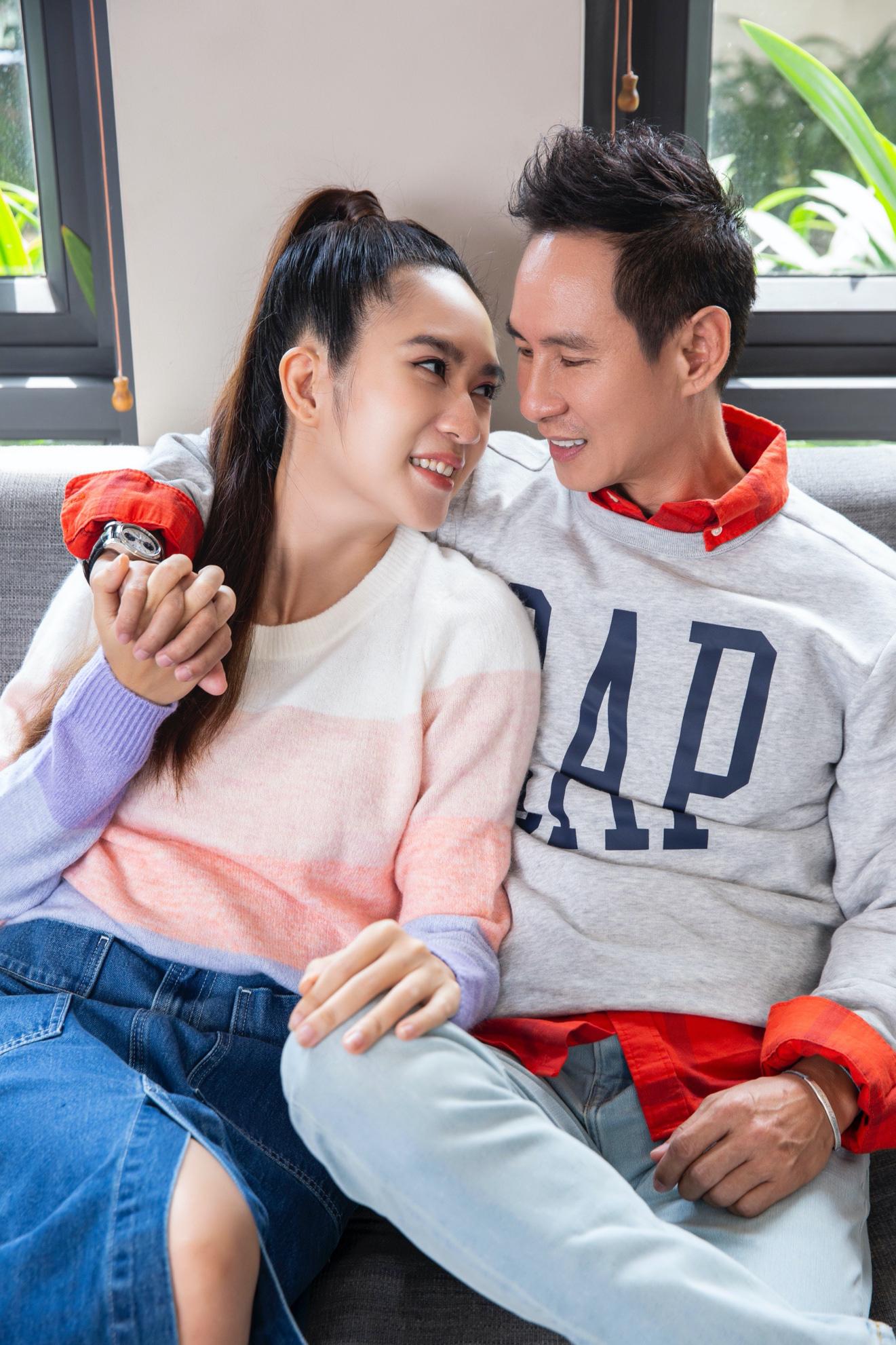 Vợ chồng Lý Hải - Minh Hà cùng 4 nhóc tì xuất hiện như fashionista trong BST Holiday của GAP - Ảnh 6.